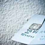 Brutet kreditkort